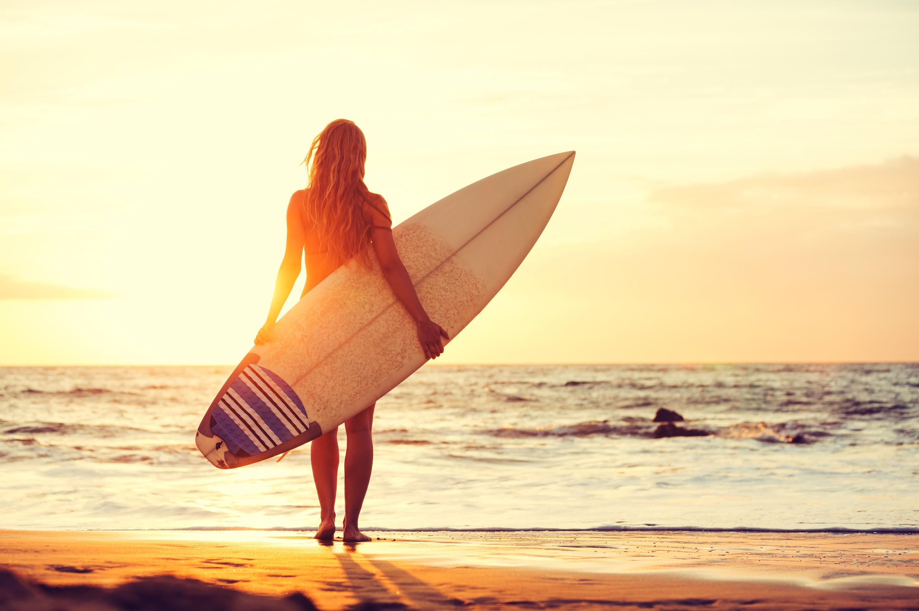 Surfen strand